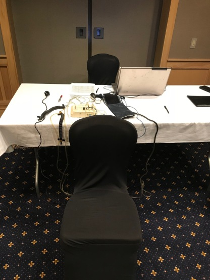The 'hot seat' polygraph